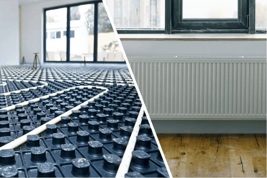 Underfloor Heating vs Radiators? Which One Is Better?-  Our Guide